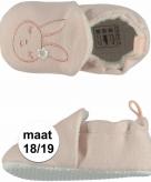 Kraamkado babyslofjes met konijntje maat 18 19