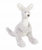 Kraamkado knuffel kangoeroe 20 cm