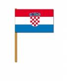 Kroatie zwaaivlaggetjes