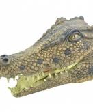 Krokodil masker van rubber