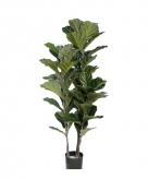 Kunst vioolbladplant 100 cm