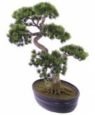 Kunstplant japanse den bonsai 40 cm