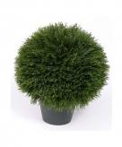 Kunstplant luxe cypress bol 38 cm