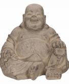 Lachende boeddha beeldje 24 cm