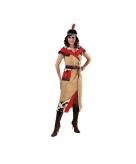 Lange indiaanse jurk voor dames