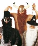 Lange witte baard