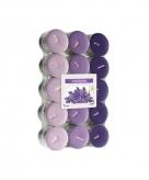 Lavendel geur theelichten 30 stuks
