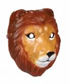 Leeuwen masker gemaakt van plastic 3d 22cm