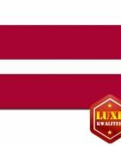 Letlandse vlag goede kwaliteit
