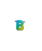 Letters van papier letter b