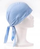 Lichtblauwe bandana