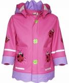 Lieveheersbeestje regenjas voor kinderen