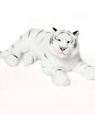 Liggende witte tijger 81 cm wnf