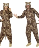 Luipaard huispak voor volwassenen