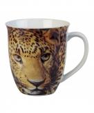 Luipaard koffiemok