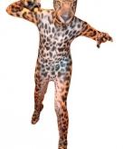 Luipaarden morphsuit voor kinderen