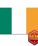 Luxe ierse vlag 100x150