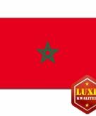 Luxe marokkaanse vlag 100x150