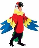 Luxe papegaaienpak verkleedkleding