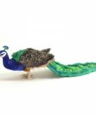 Luxe pauw pluche 100 cm