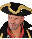 Luxe piraten hoed voor volwassenen