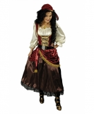 Luxe piraten kostuum voor dames 10067174