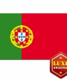 Luxe portugese vlag 100x150