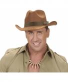 Luxe sherrif hoed bruin