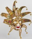 Luxueus reale tarot dame masker