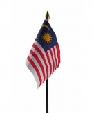 Maleisie vlaggetje polyester