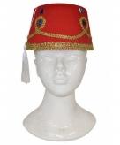 Marokkaanse hoeden met decoratie voor volwassenen