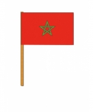 Marokko zwaaivlaggetjes
