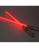 Mega led licht zwaard rood 140 cm