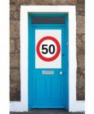 Mega poster 50 jaar verkeersbord