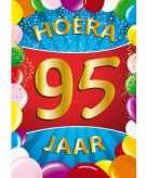Mega poster 95 jaar