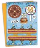 Mega taart voor een 18 jarige verjaardag