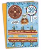 Mega taart voor een 30 jarige verjaardag