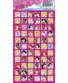 Meisjes stickers disney princess