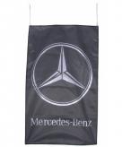 Mercedes benz vlag zwart 150 x 90 cm
