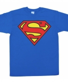 Merchandise superman logo shirt heren