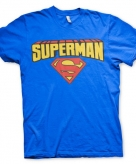 Merchandise superman shirt heren