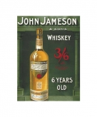 Metalen wand bordje john jameson 10056920