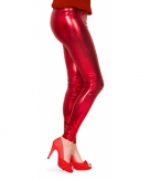 Metallic legging rood