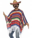 Mexico verkleed kleding poncho