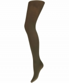 Microfiber dames panty bruin