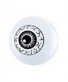 Mini ballon oog 13 cm