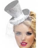 Mini hoge hoed op hoofdband