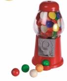 Mini kauwgomballen automaten 13 cm
