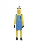 Mini kostuum geel meisje