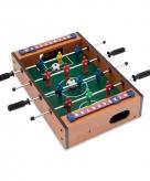 Mini tafelvoetbal spel hout